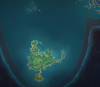 《原神》鹤观岛位置介绍