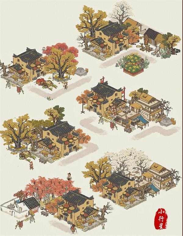 《江南百景图》丰收之家布局攻略